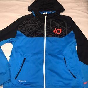 KD Nike zip up
